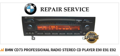 BMW CD73 PROFESSIONAL RADIO STEREO CD PLAYER E90 E91 E92