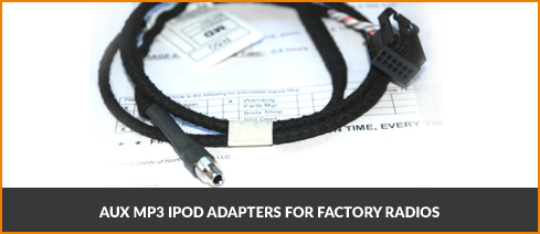 AUX MP3 iPOD Adapters